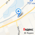 Цитадель на карте Белгорода