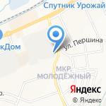 Мегастрой на карте Белгорода