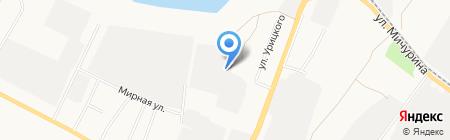 Арден на карте Белгорода