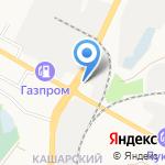 Леопольд на карте Белгорода