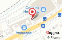 Схема проезда до компании Обои Буржуй-Декор в Белгороде