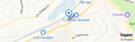 Кожа и мех на карте Белгорода