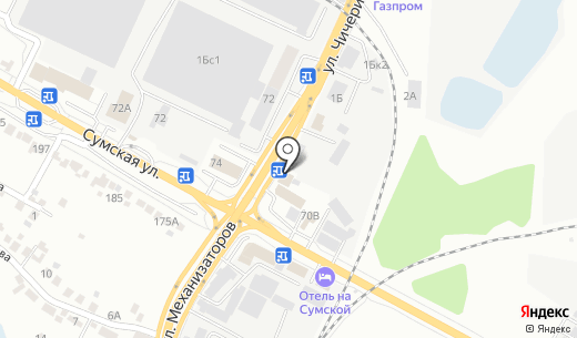 Круиз. Схема проезда в Белгороде