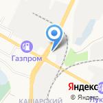 Круиз на карте Белгорода