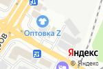 Схема проезда до компании Кувырок+ в Белгороде
