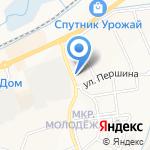 555 на карте Белгорода