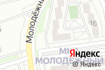 Схема проезда до компании ЕДА в Белгороде
