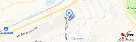 Арсенал шина на карте Белгорода