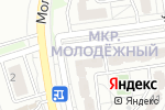 Схема проезда до компании Бульвар в Белгороде