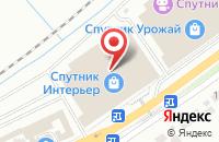 Схема проезда до компании Салон дверей и мебели в Белгороде