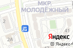 Схема проезда до компании DIGITAL LAB в Белгороде