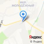Магазин автостекла на карте Белгорода