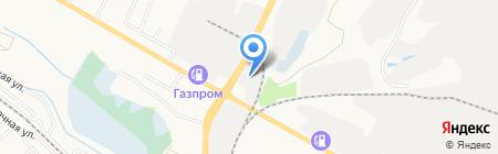 АВР на карте Белгорода