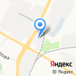 Дом перин на карте Белгорода