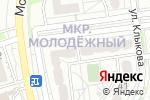 Схема проезда до компании Сантехподрядчик в Белгороде