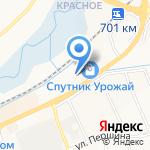 Армос на карте Белгорода