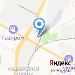 Kinzle на карте Белгорода