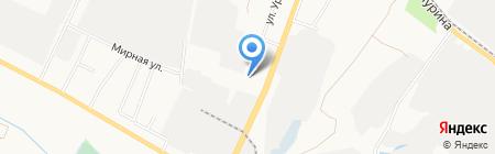 Дворец Востока на карте Белгорода