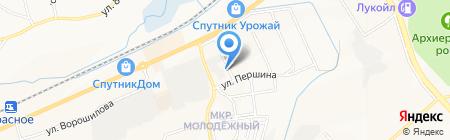 Белгородская районная станция по борьбе с болезнями животных на карте Белгорода