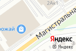 Схема проезда до компании Канцлеръ в Белгороде