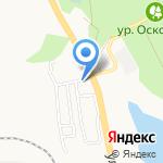 МастаК на карте Белгорода