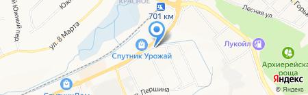 Салон природного камня на карте Белгорода