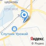 Автомир на карте Белгорода