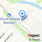 Маркис на карте Белгорода