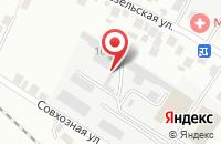 Схема проезда до компании Спутник в Белгороде