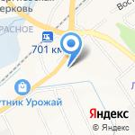 Магазин автозапчастей ГАЗ на карте Белгорода
