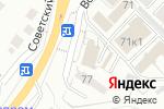 Схема проезда до компании Правильная мебель в Белгороде