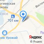 Харбин на карте Белгорода