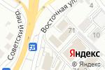 Схема проезда до компании Двери-Холл в Белгороде
