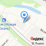 Стройка Белогорья на карте Белгорода