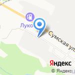 Электростандарт на карте Белгорода