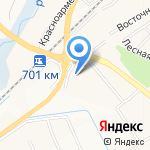 Юг на карте Белгорода