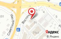 Схема проезда до компании Синдикат в Белгороде