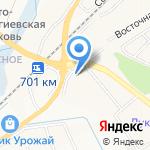 Бам на карте Белгорода