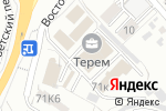 Схема проезда до компании Белтрубосталь в Белгороде