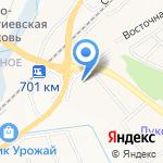Бегемот на карте Белгорода