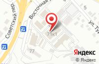 Схема проезда до компании Декор в Белгороде