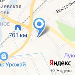 Терем на карте Белгорода