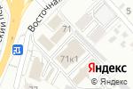 Схема проезда до компании Двери Белогорья в Белгороде