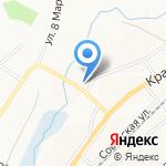 Cline lane на карте Белгорода