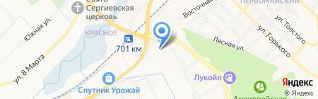 БЕЛФУНДАМЕНТ на карте Белгорода