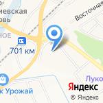 Мегатек на карте Белгорода