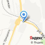 Роснефть на карте Белгорода