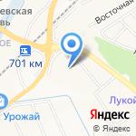 Динамит на карте Белгорода