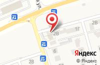 Схема проезда до компании Ирбис в Дубовом