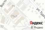 Схема проезда до компании Динамит в Белгороде